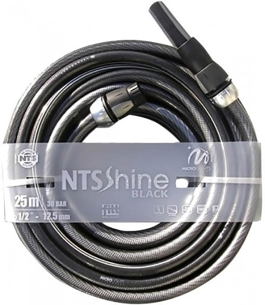 Gartenschlauch NTS Shine black Set